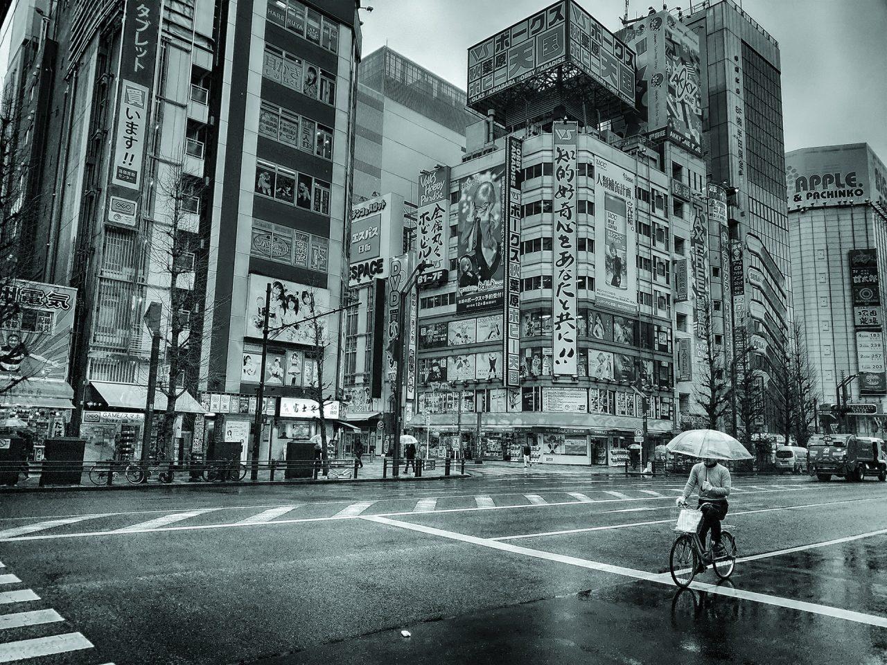 1 апреля 2020. Токио, Акихабара