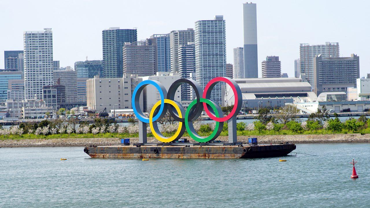 2 апреля. Токио, Одайба, Олимпиада