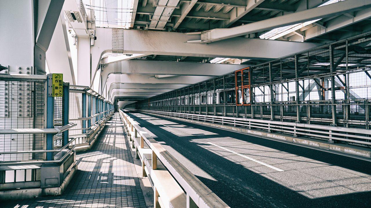 2 апреля 2020. Токио, Одайба, Радужный мост