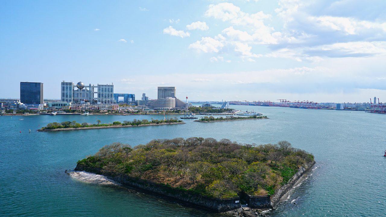 2 апреля 2020. Токио, Одайба, Токийский залив